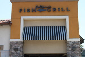 Pacific fish grill